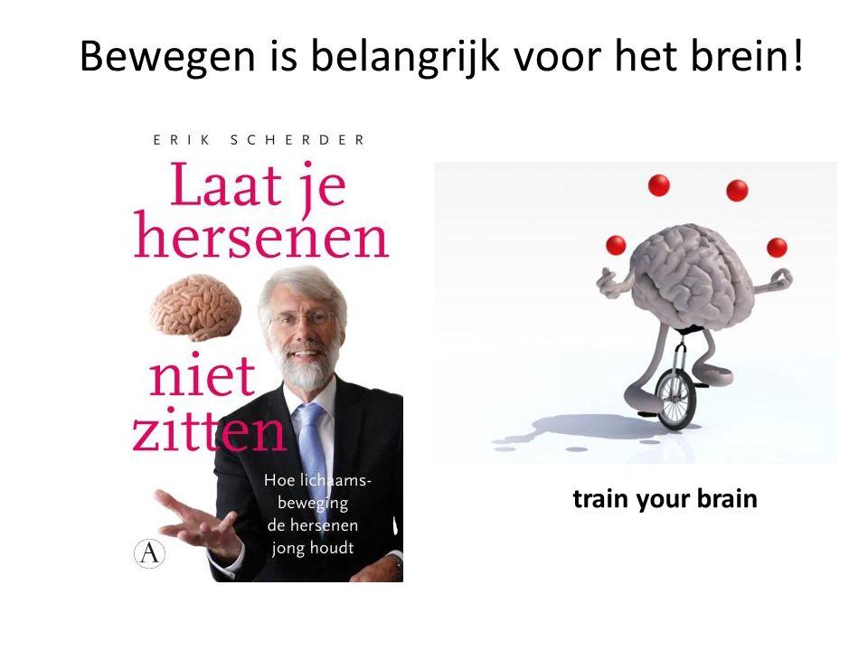 Bewegen is belangrijk voor het brein! train your brain