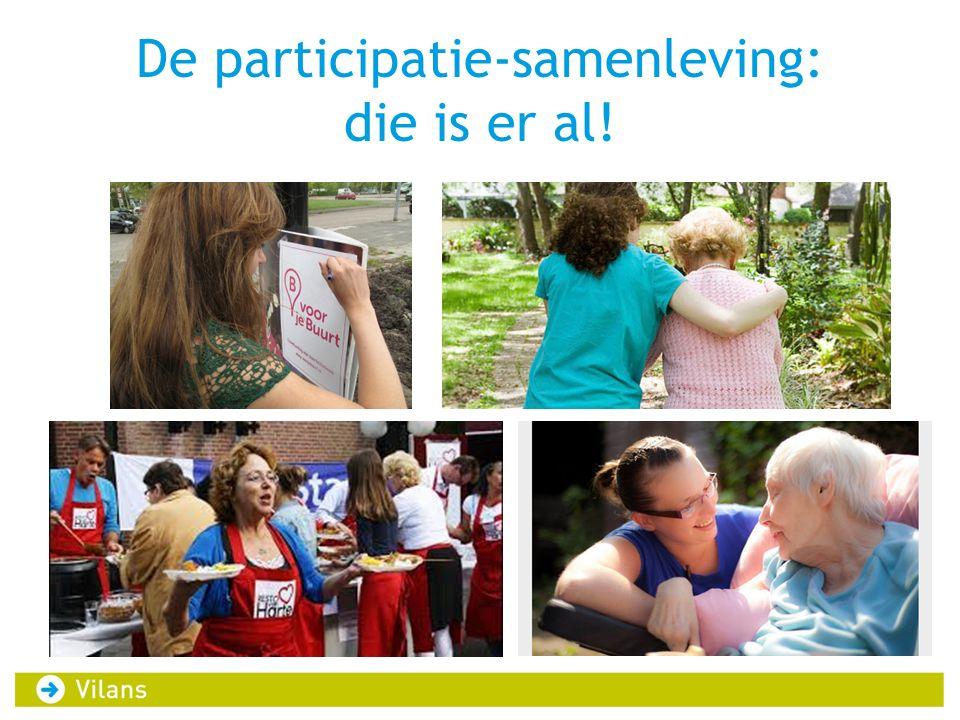 De participatie-samenleving: die is er al!