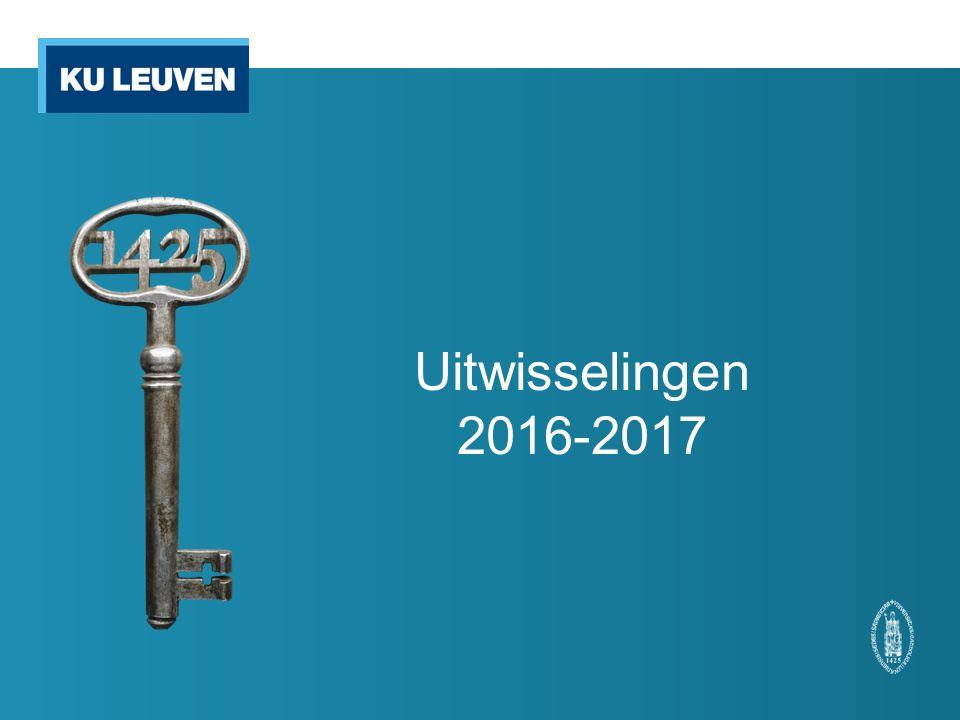 Uitwisselingen 2016-2017
