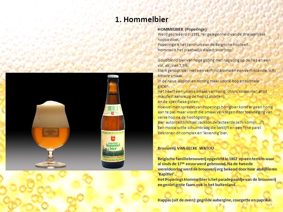 2.Hopus HOPUS Helder blond bier van hoge gisting met nagisting op de fles en een vol.