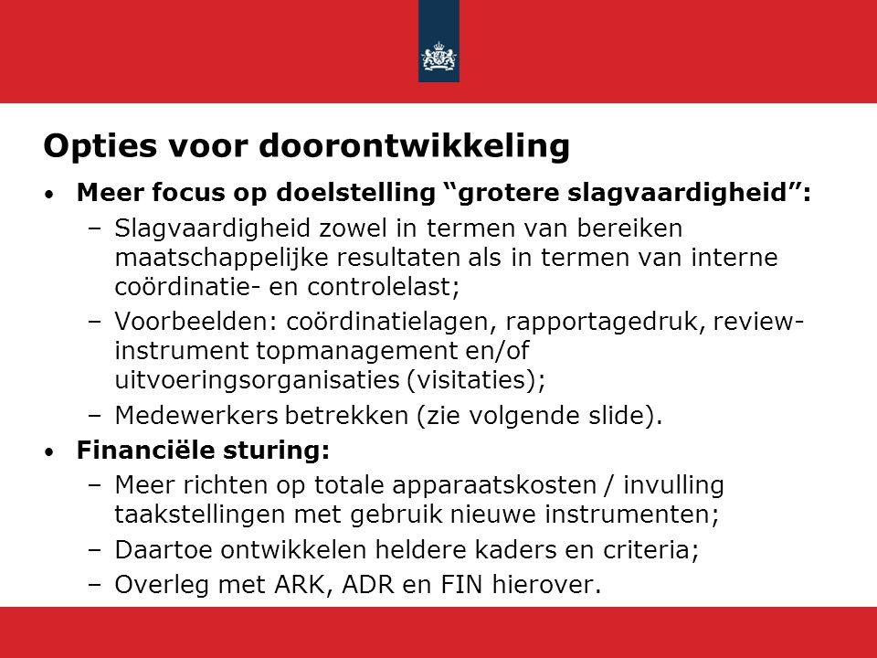 Ideeënbus/Tiplijn 'Hervorming Rijksdienst' Waarom (willen we dit doen).