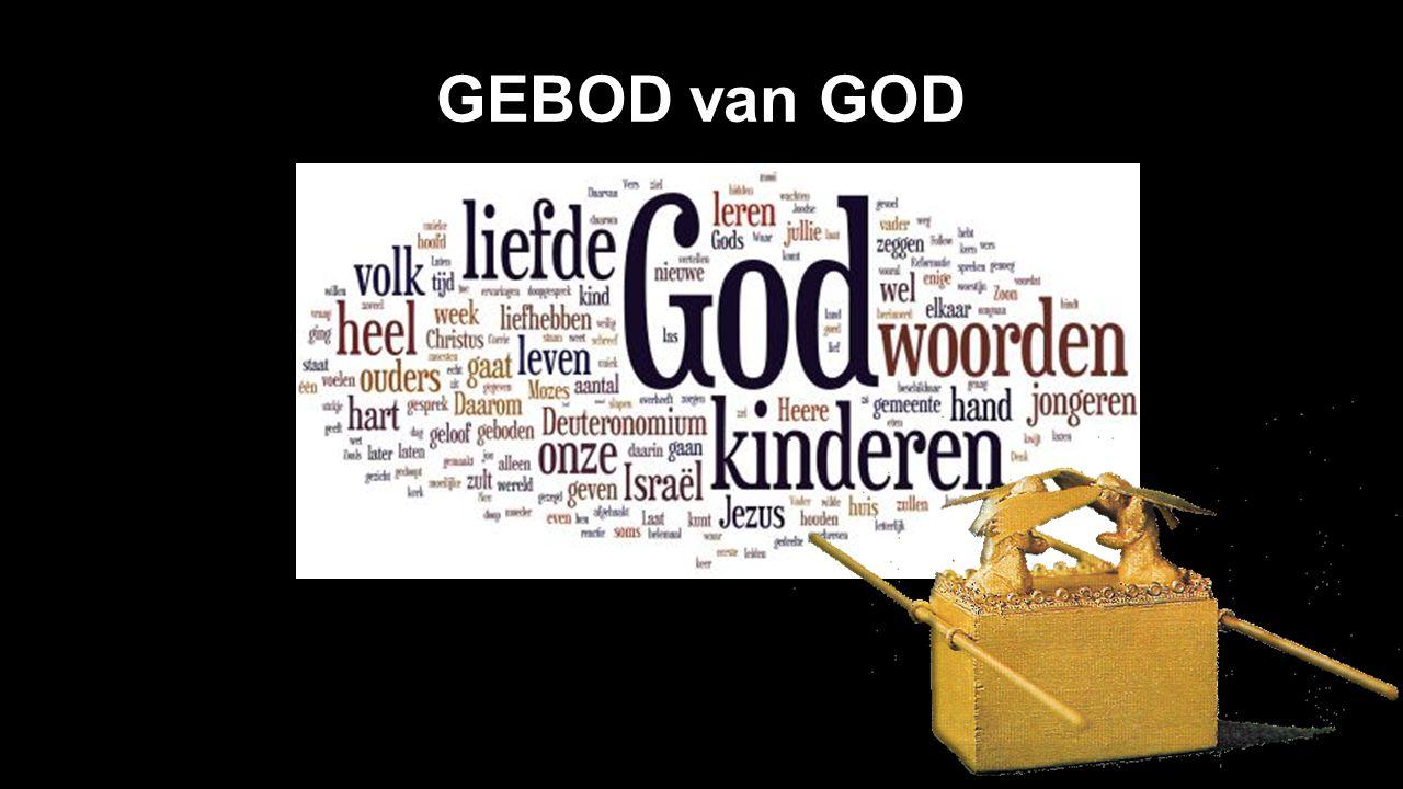GEBOD van GOD
