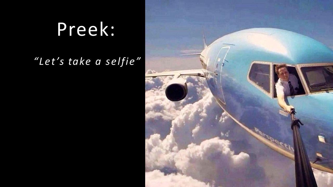"""Preek: """"Let's take a selfie"""""""
