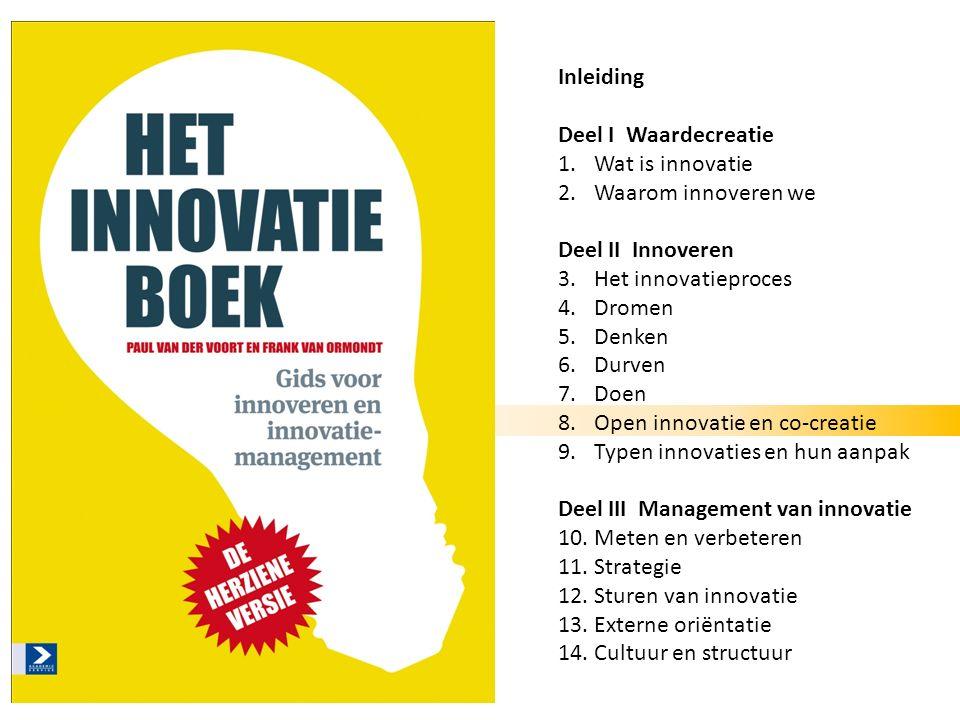 Het innovatieboekOpen innovatie en co-creatie Deel 2: Innoveren