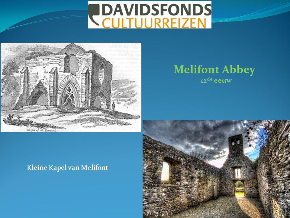 Melifont Abbey 12 de eeuw Kleine Kapel van Melifont
