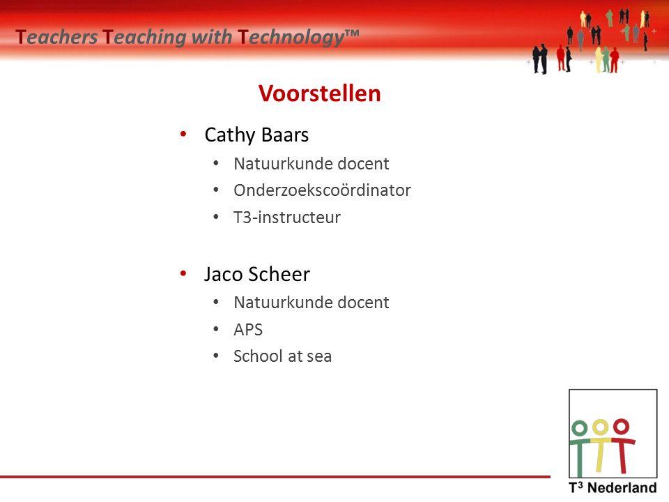 Teachers Teaching with Technology™ Modellen en simulaties.