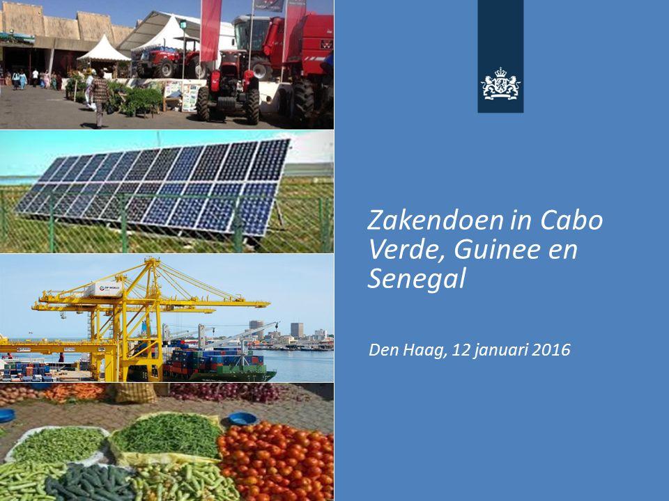Zakendoen in Cabo Verde, Guinee en Senegal Den Haag, 12 januari 2016