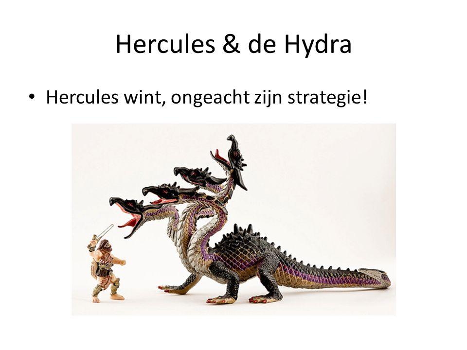Hercules & de Hydra Hercules wint, ongeacht zijn strategie!