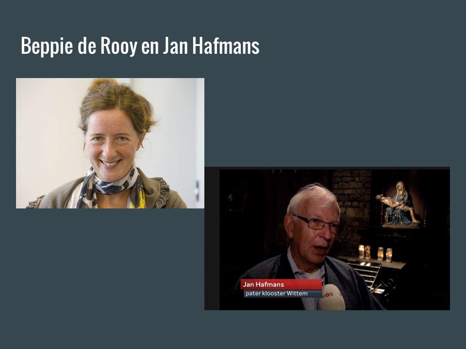 Beppie de Rooy en Jan Hafmans