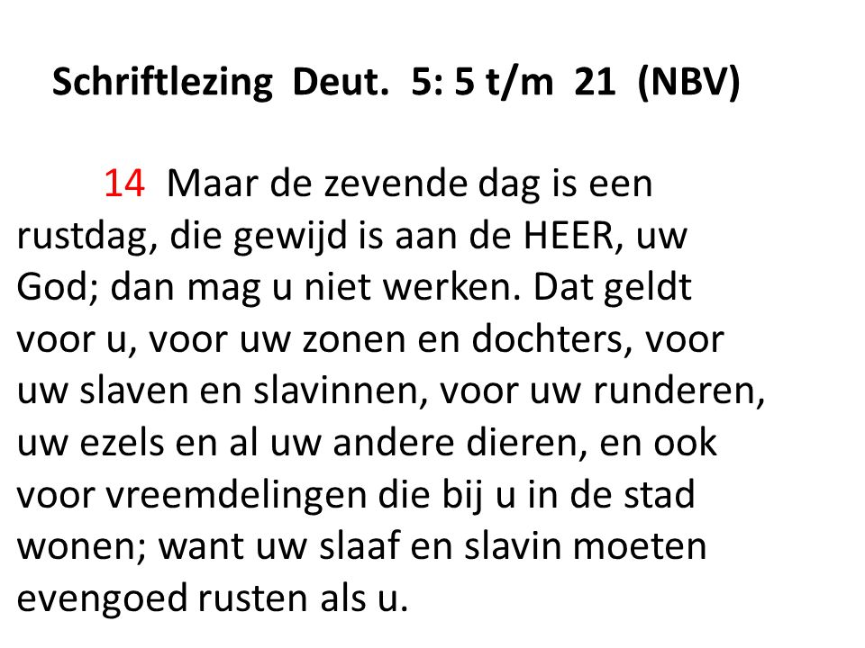 Schriftlezing Deut.