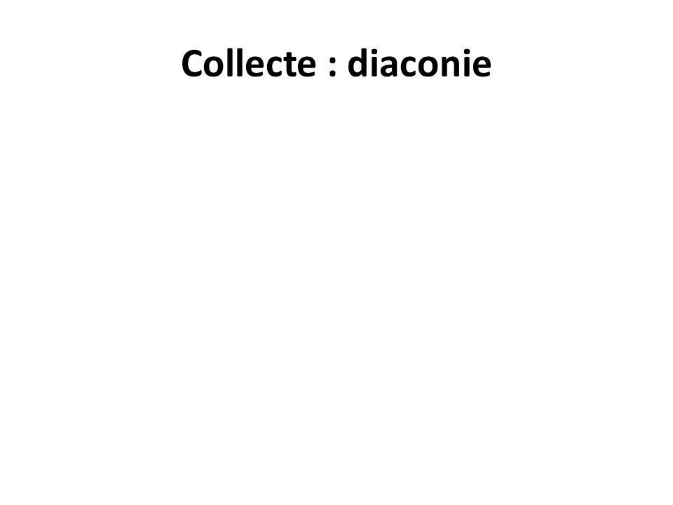Collecte : diaconie