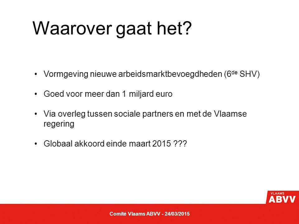 Plannen Vlaamse regering 1.