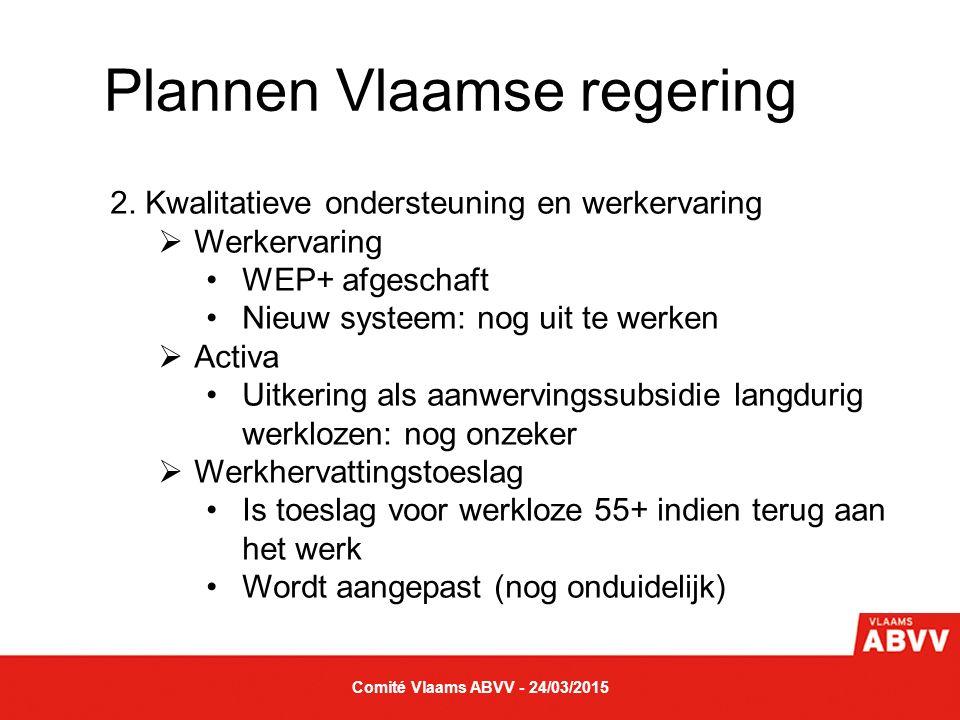 Plannen Vlaamse regering 3.