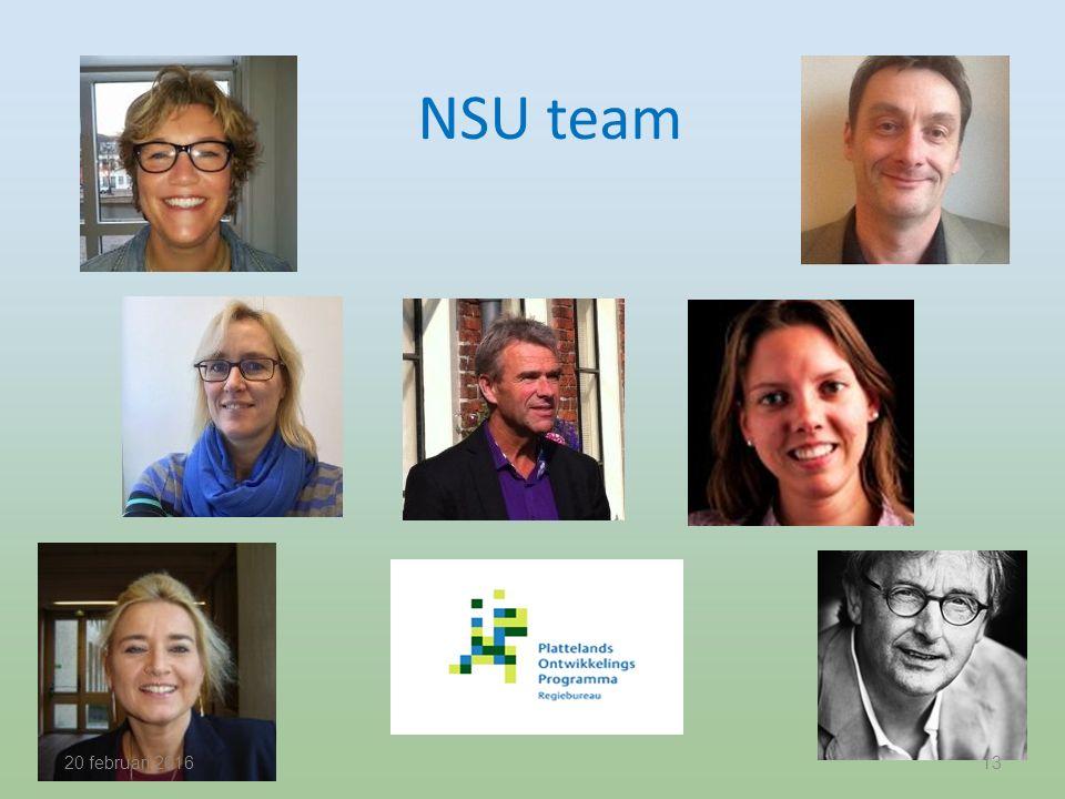 NSU team 20 februari 201613