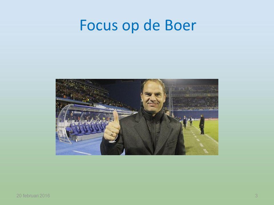Focus op de Boer 20 februari 20163