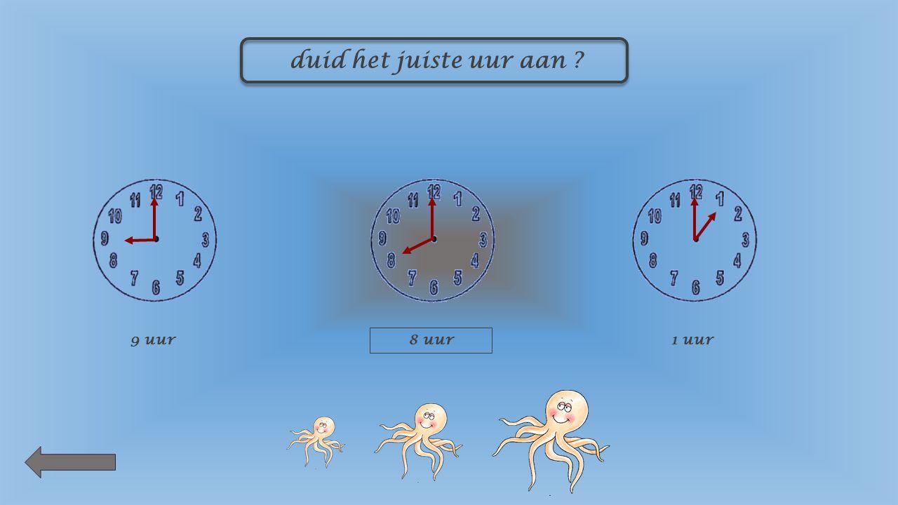 hoe laat is het 12 uur7 uur4 uur