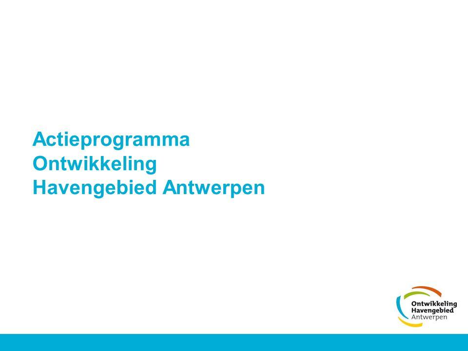 Actieprogramma Ontwikkeling Havengebied Antwerpen