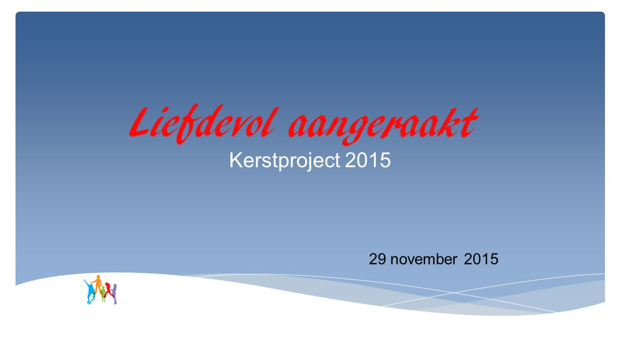 Kerstproject 2015 29 november 2015