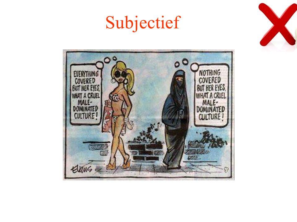 Subjectief