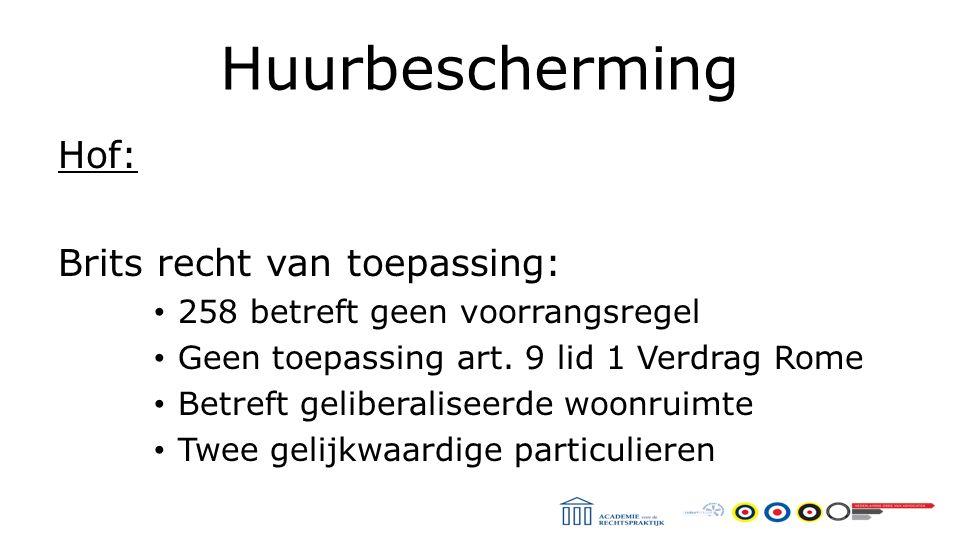 Huurbescherming Hof 's-Hertogenbosch 14 april 2015 Kwalificatievraag Casus: Agrarisch bedrijf met woning en schuren Verhuur van de schuren Kwalificatie gebruik van de woning.