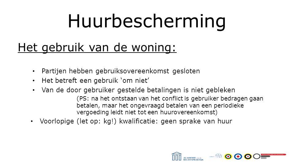 Huurbescherming Hof Amsterdam 28 april 2015 Kwalificatievraag Casus: Gemeente stelt perceel en woonwagen beschikbaar Afspraken zijn vastgelegd in 'bruikleenovereenkomst' Overeengekomen duur van vijf jaar Gebruiksvergoeding van € 300 p.m.