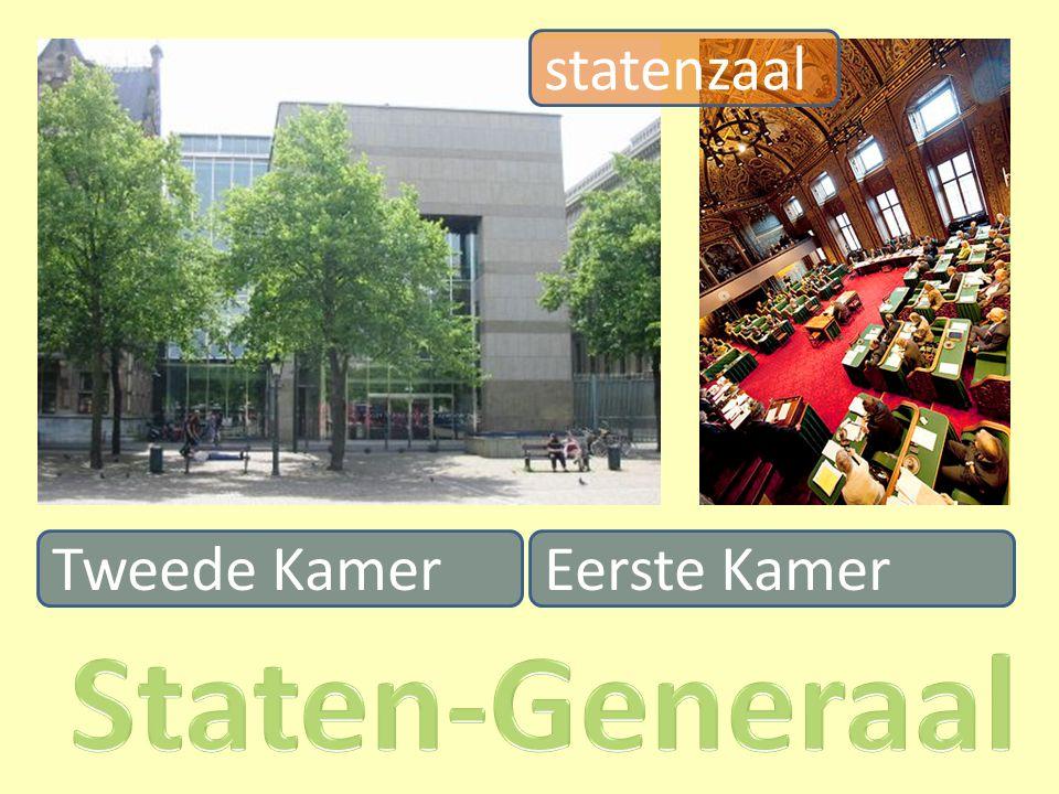 Tweede Kamer statenzaal Eerste Kamer