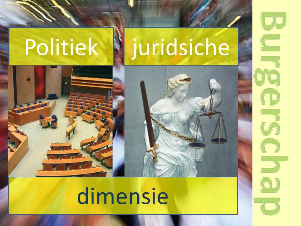 Politiek juridsiche dimensie