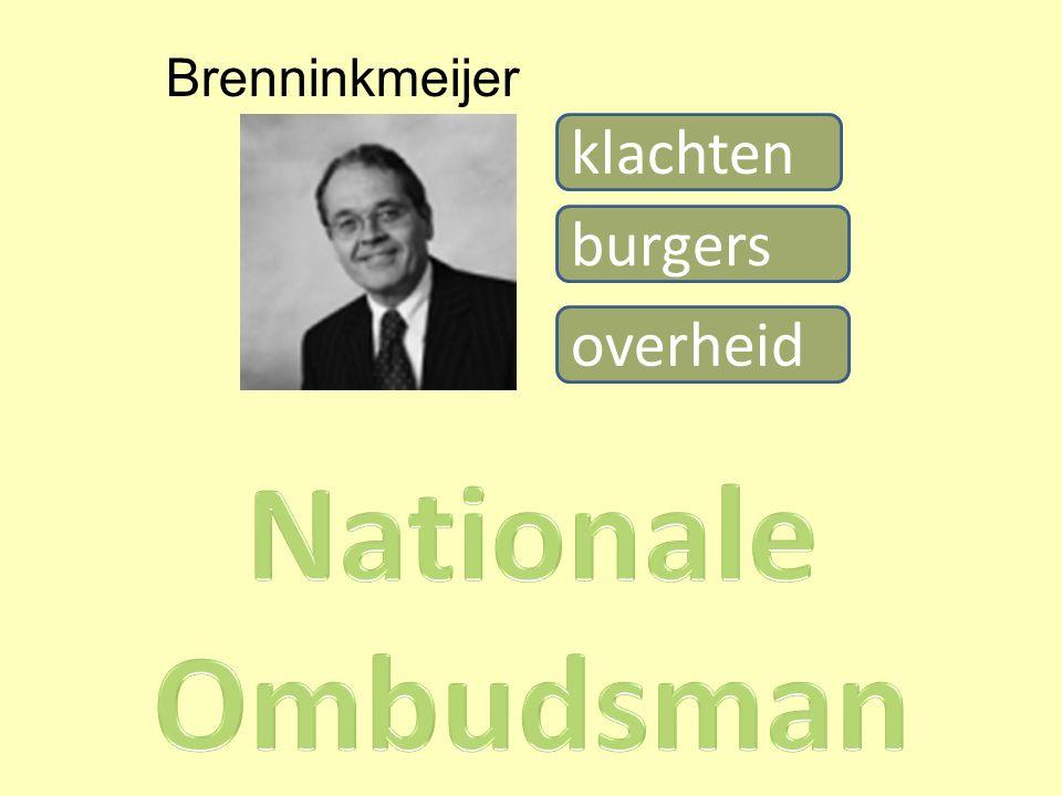 overheid klachten burgers Brenninkmeijer