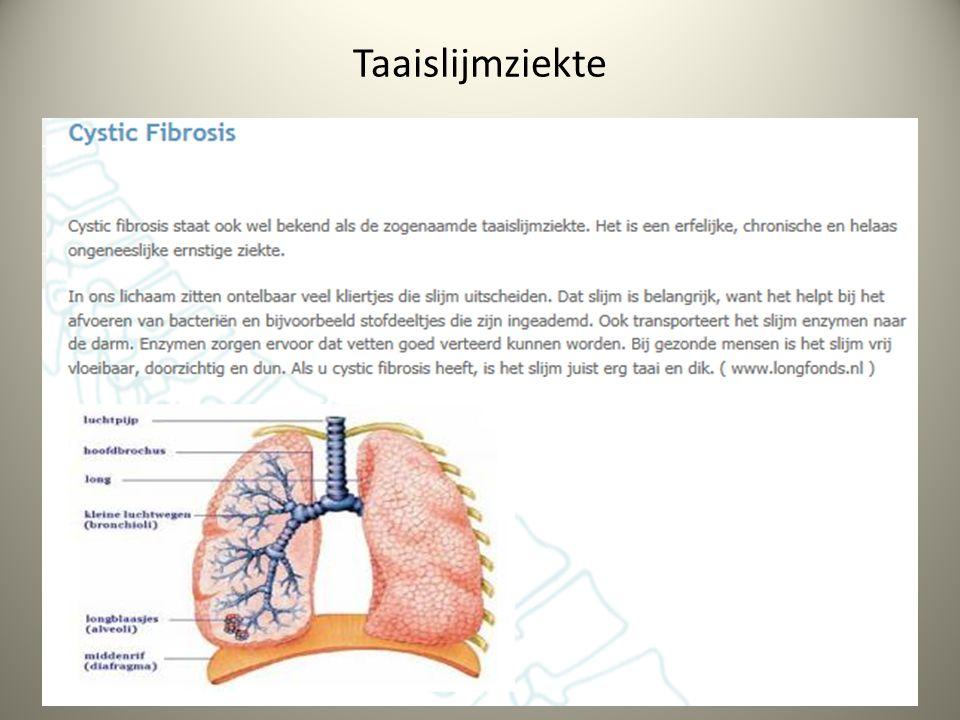 Taaislijmziekte