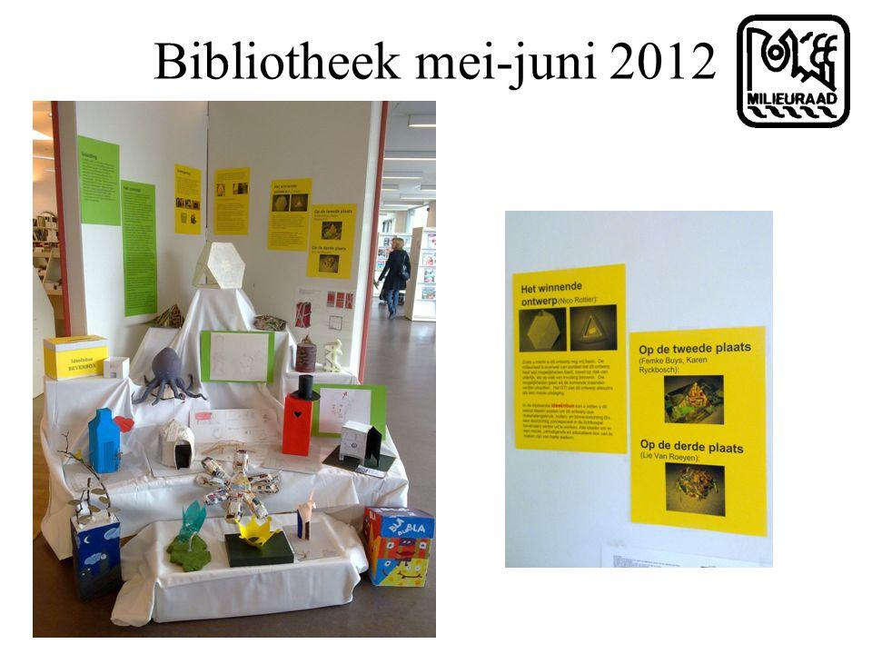 Bibliotheek mei-juni 2012