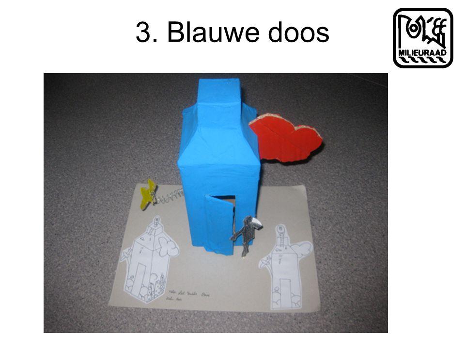 3. Blauwe doos
