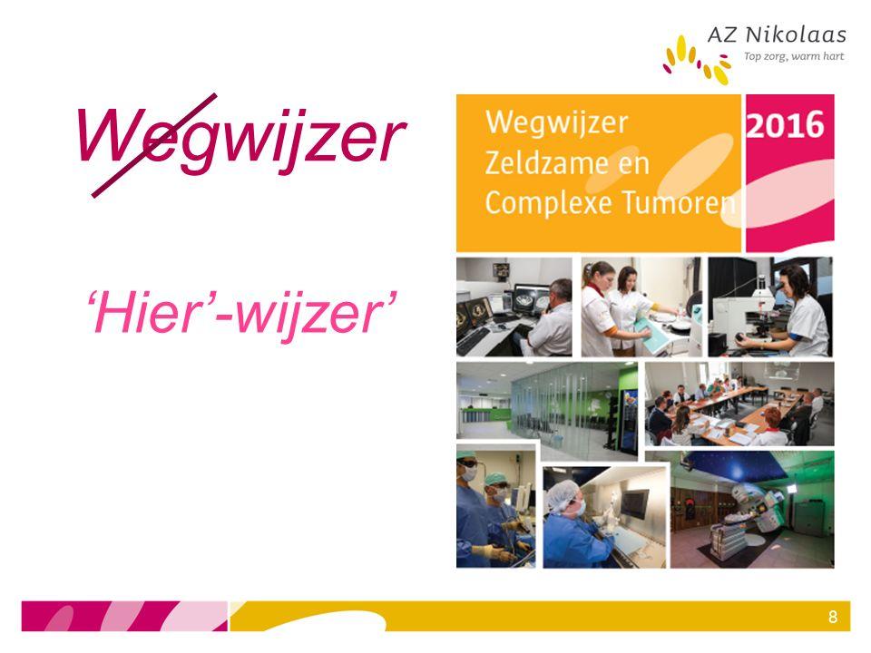 DIO-NETwerk Iridium NETwerk = samenwerking tss 9 ziekenhuizen en 1 academische partner (UAntwerpen) Doel: Bundelen van expertise rond de behandeling van neuroendocriene tumoren (NET) met respect voor de eigenheid van elk centrum en de wensen van de patiënt.