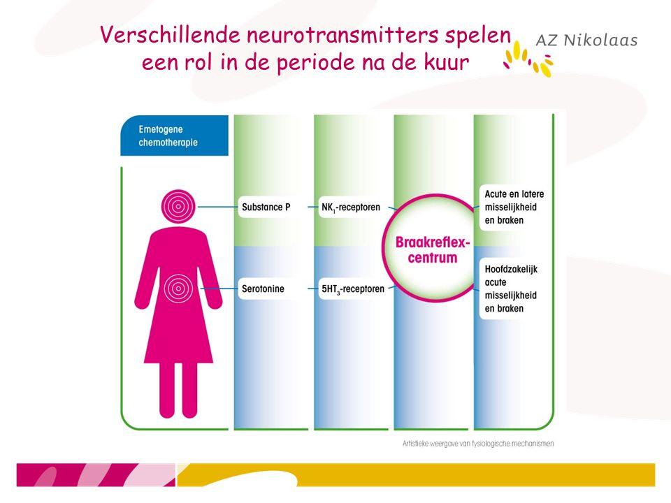 Verschillende neurotransmitters spelen een rol in de periode na de kuur