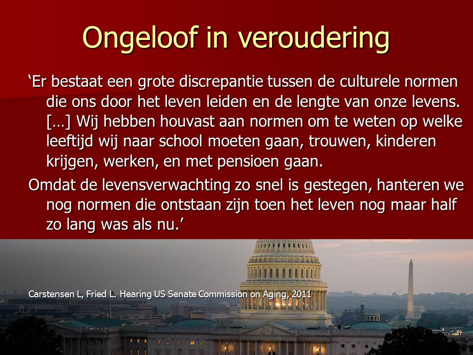 22 oktober 2009Longitudinal Aging Study Amsterdam 5-jaars overleving, twee of meer fatale ziekten: 1996-2001 and 2006-2011