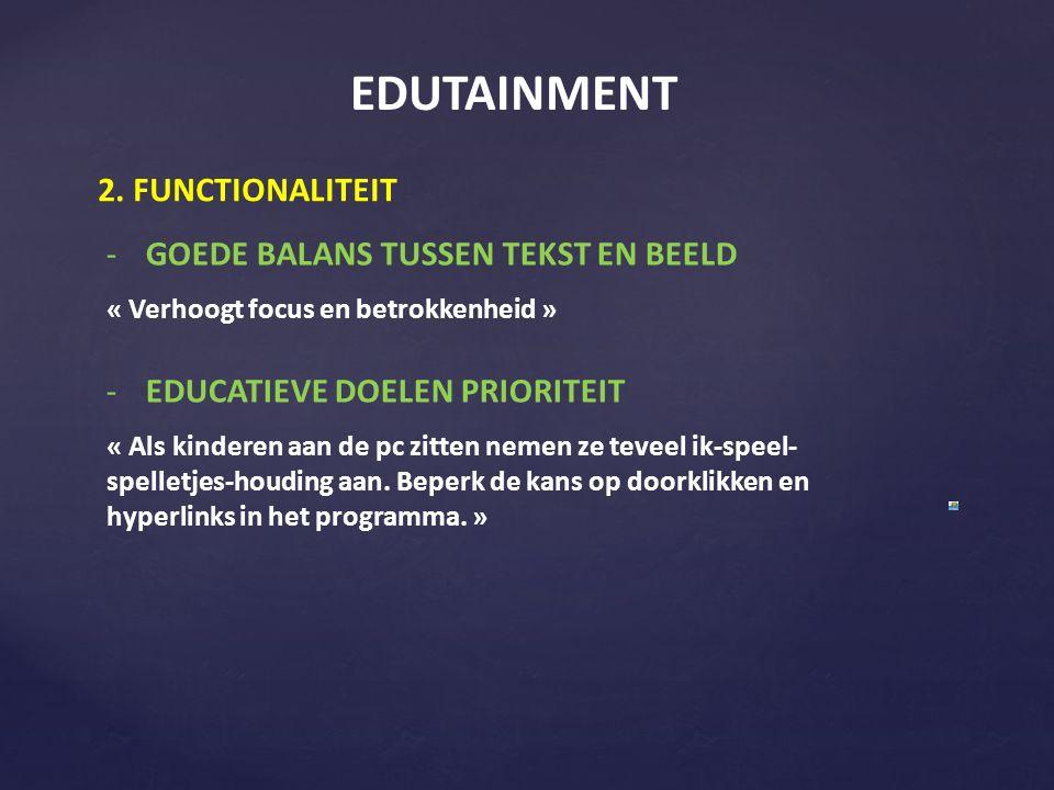 EDUTAINMENT 2.