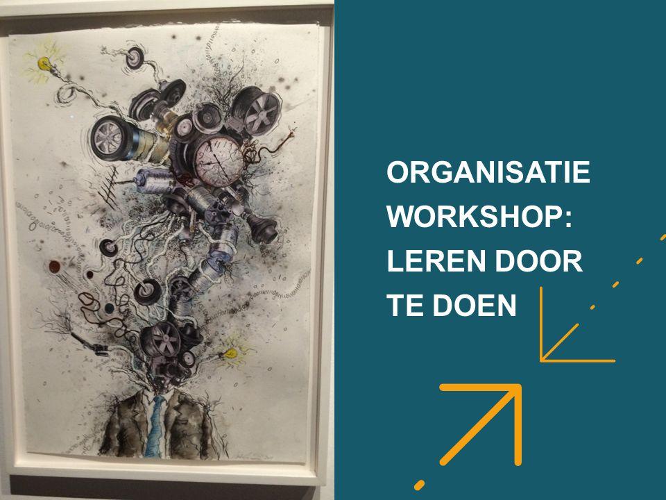 ORGANISATIE WORKSHOP: LEREN DOOR TE DOEN