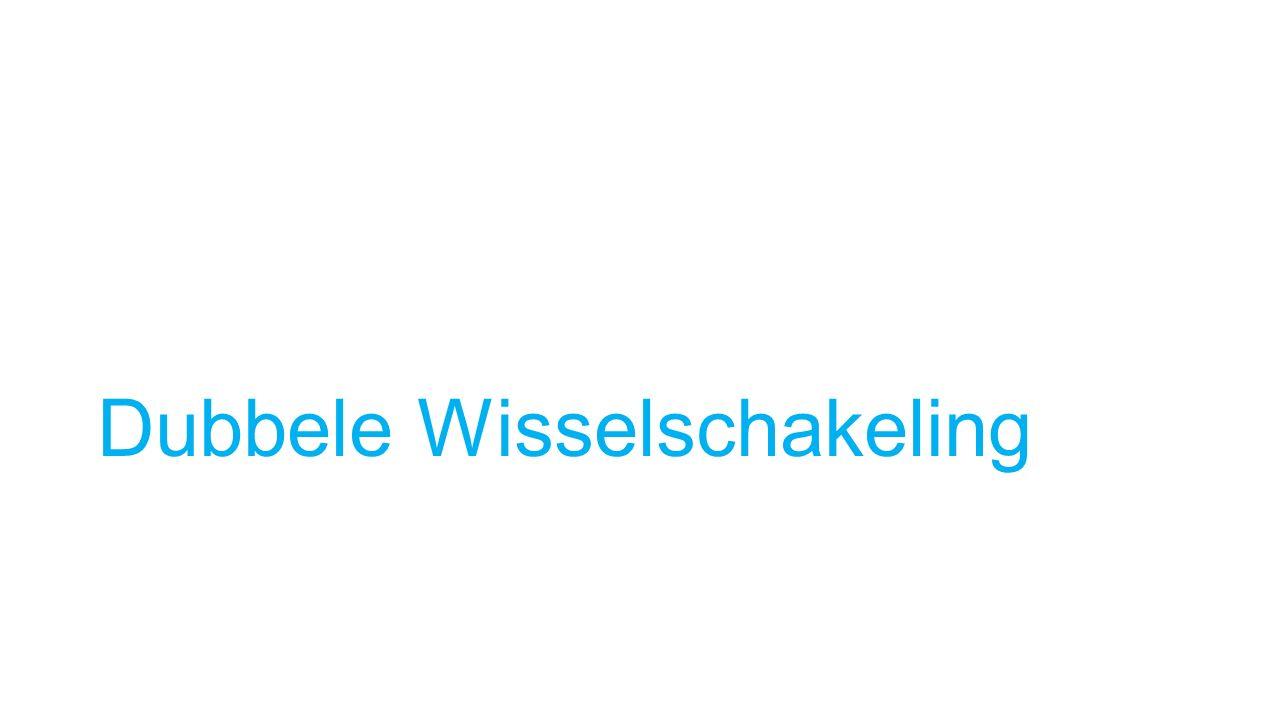 Dubbele Wisselschakeling