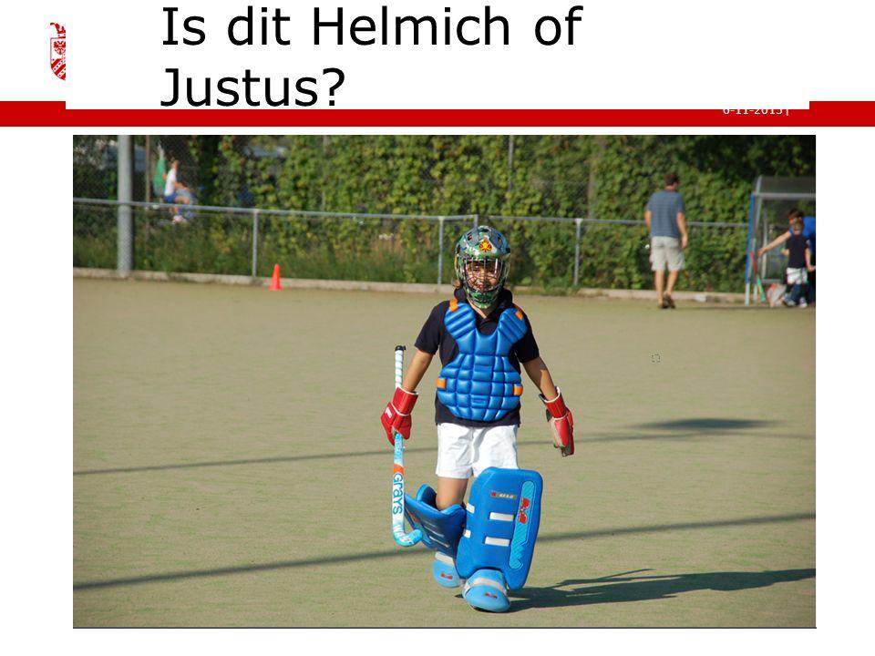 | faculteit gedrags- en maatschappijwetenschappen 6-11-2015 Is dit Helmich of Justus?