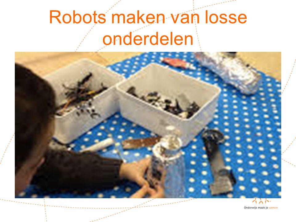 Robots maken van losse onderdelen