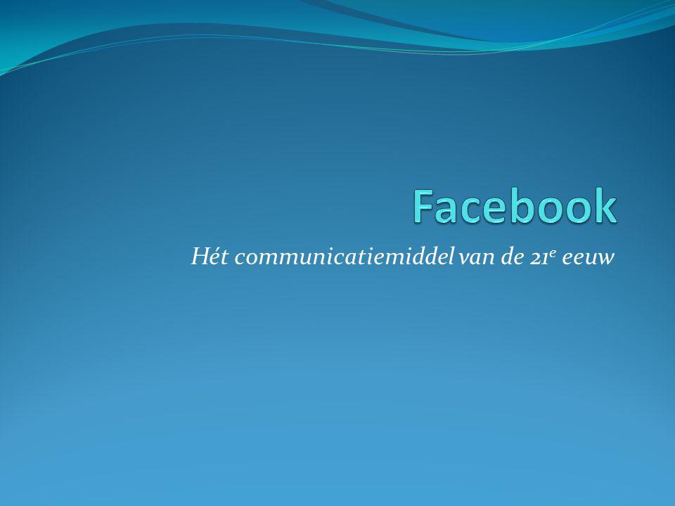 Hét communicatiemiddel van de 21 e eeuw
