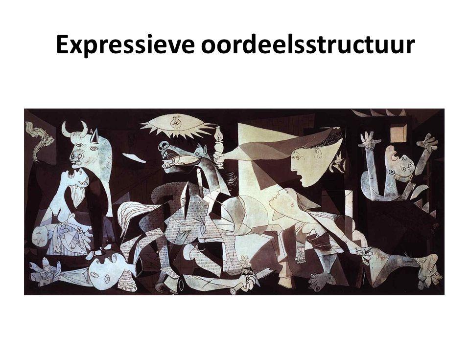 Expressieve oordeelsstructuur