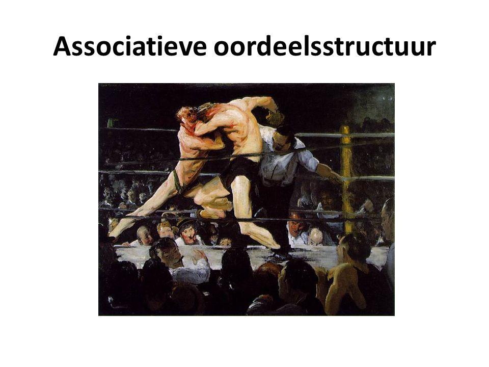 Associatieve oordeelsstructuur