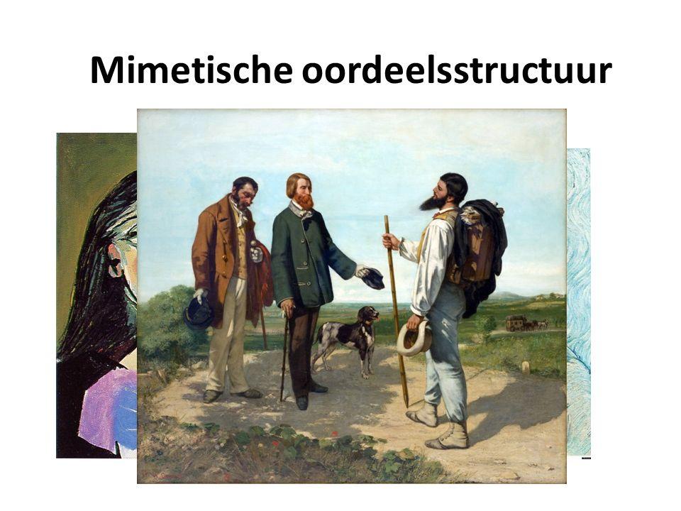 Mimetische oordeelsstructuur