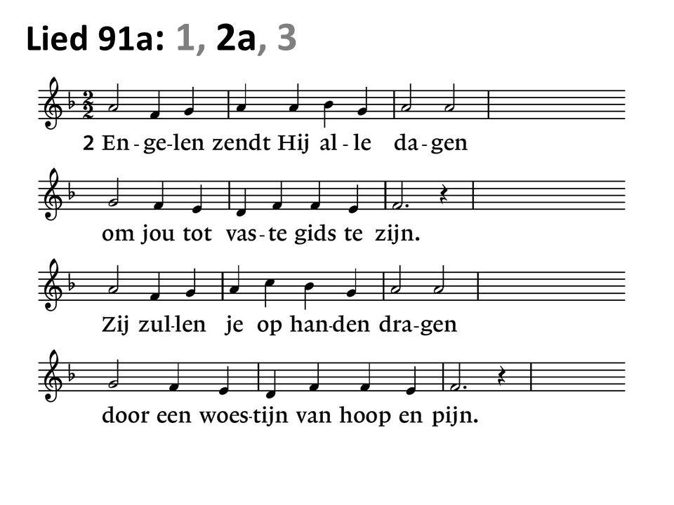 Lied 91a : 1, 2a, 3