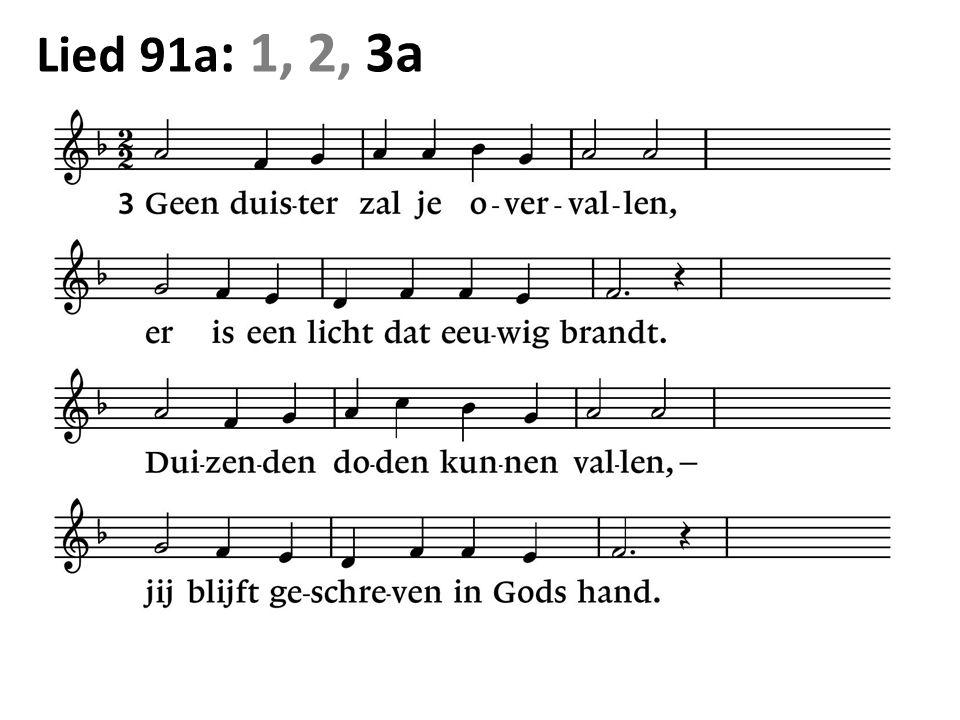 Lied 91a : 1, 2, 3a
