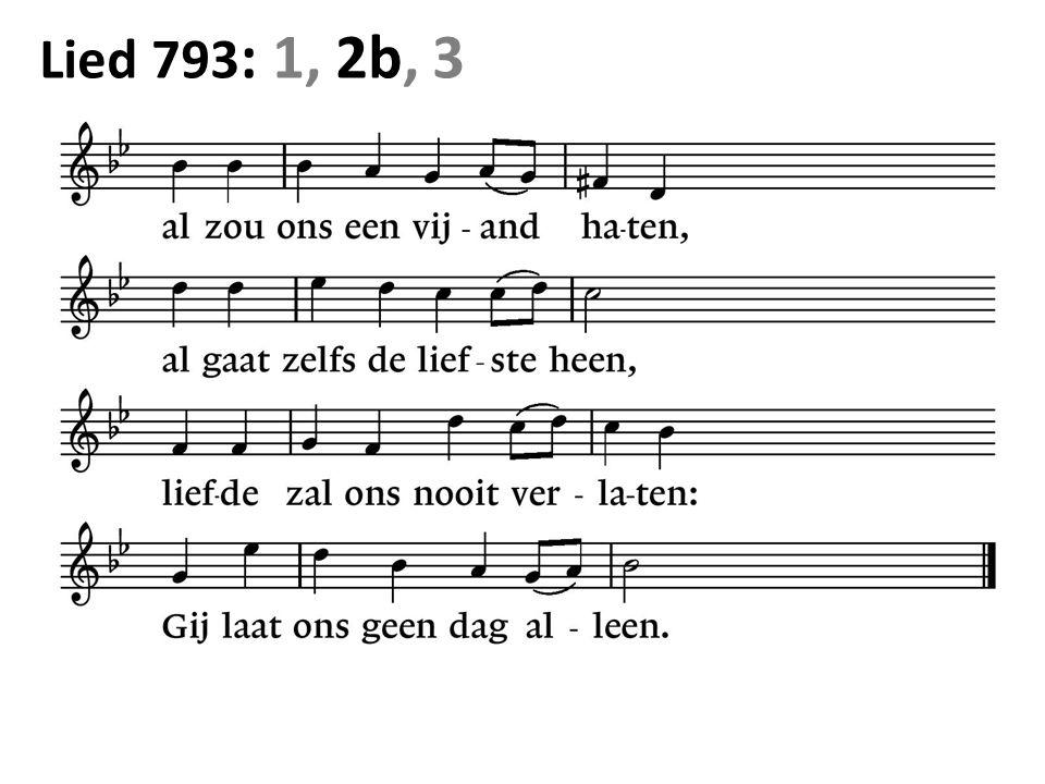 Lied 793 : 1, 2b, 3