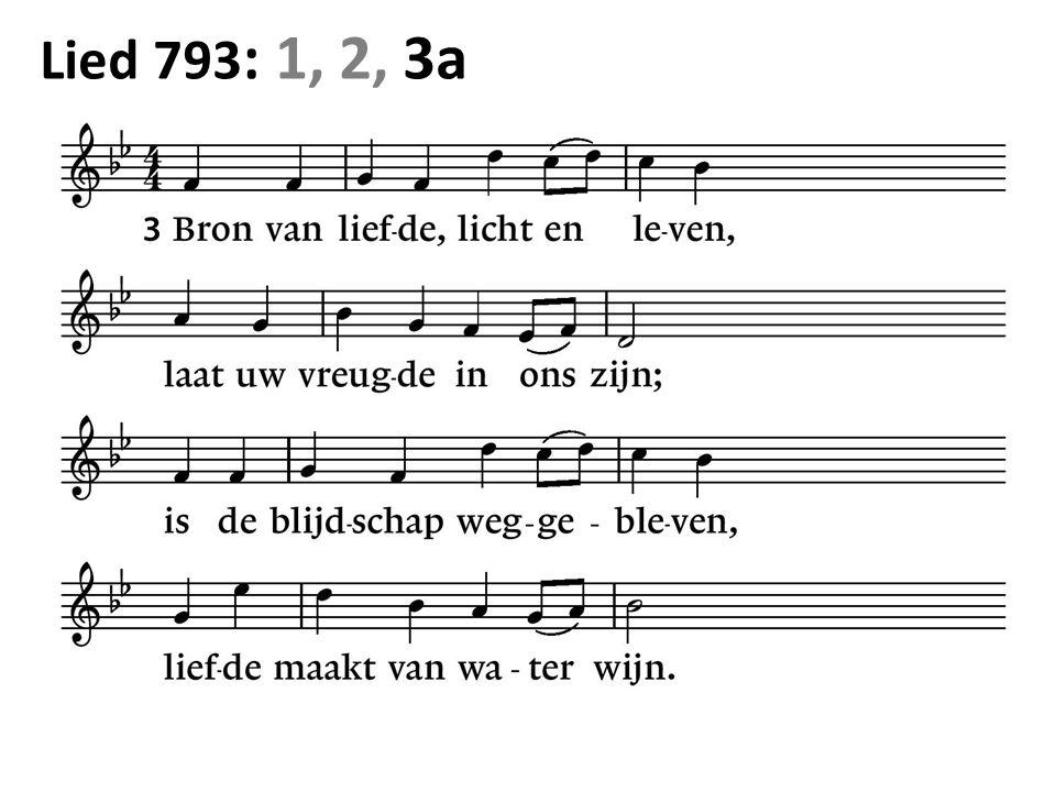 Lied 793 : 1, 2, 3a
