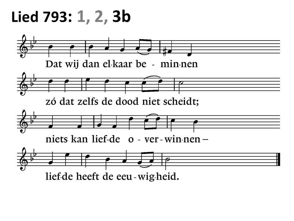 Lied 793 : 1, 2, 3b