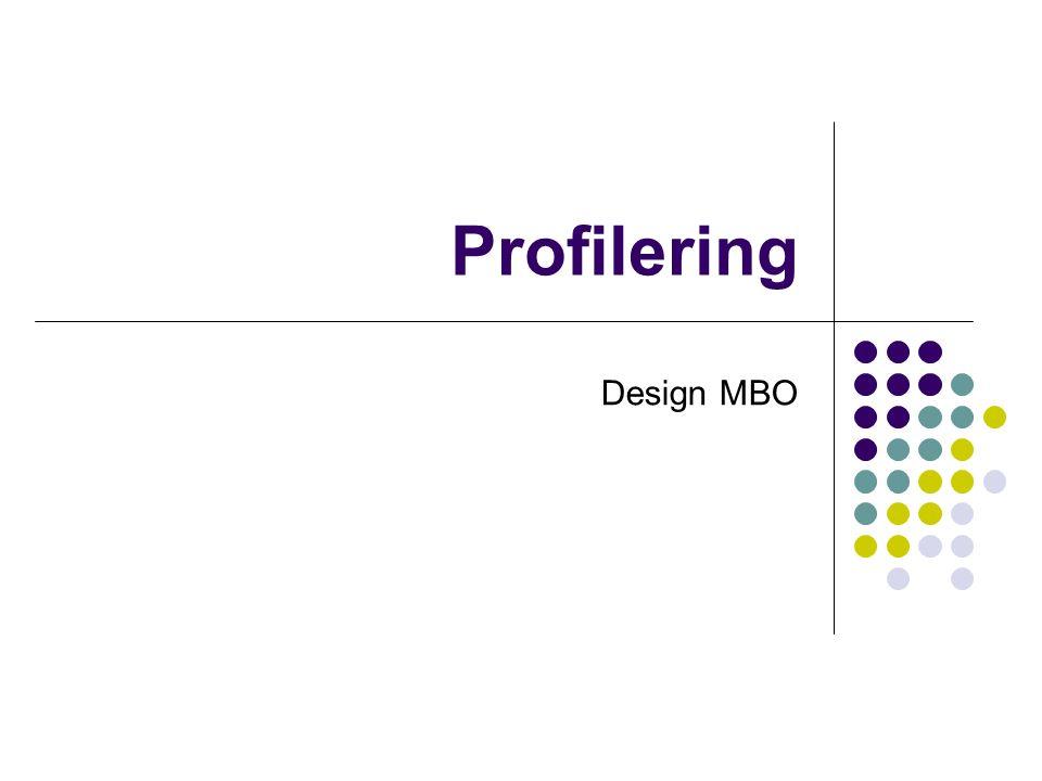Profilering Design MBO