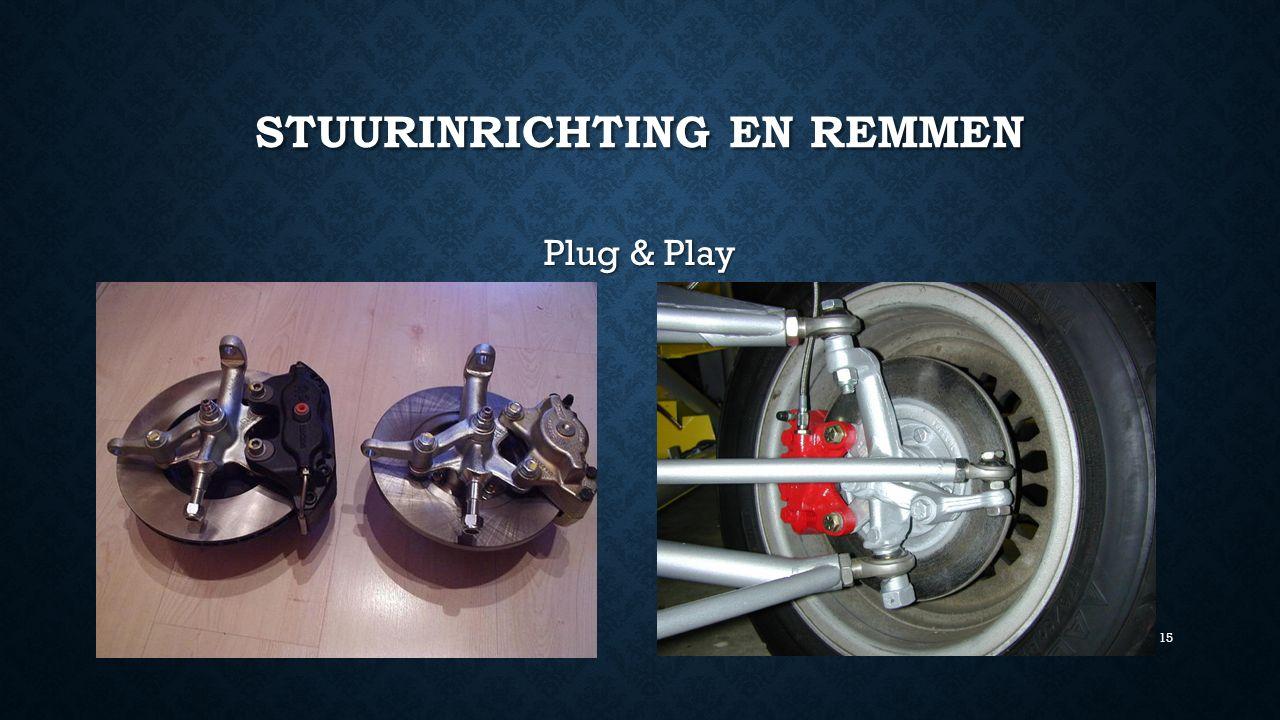 STUURINRICHTING EN REMMEN Plug & Play 15
